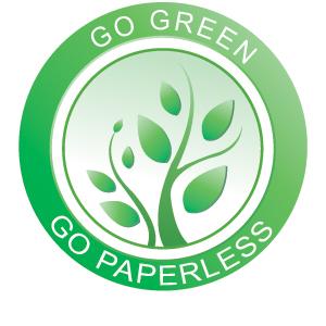 Go Green, Go Paperless image