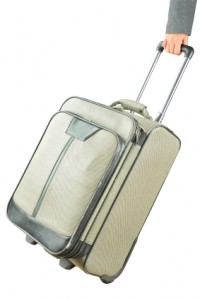 Picture of a 'rolling' suitcase