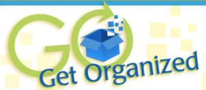 GO month get organized napo logo