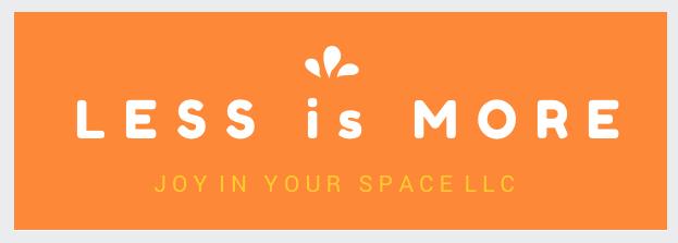 Less is More orange