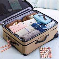 An organized and packed suitcase makes for easy travel.
